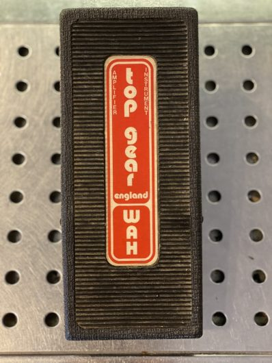 Top Gear Wah, Made in England 70s, RAR !!