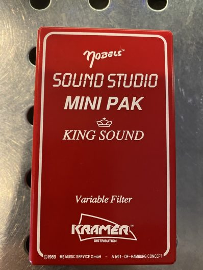 Nobels Sound Studio Mini Pak, Vintage, Rarität !
