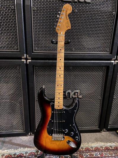 Fender Mexico Classic 70 ´s Strat mit orig. 79er Hals, upgraded