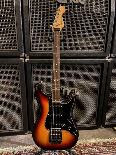 Fender US Strat Dan Smith Ära 1983, Umbau
