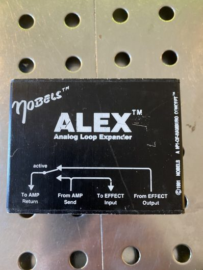 Nobels Alex