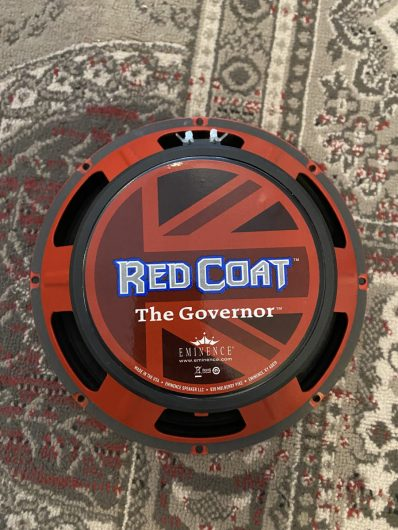 Eminence Red Coat The Governor